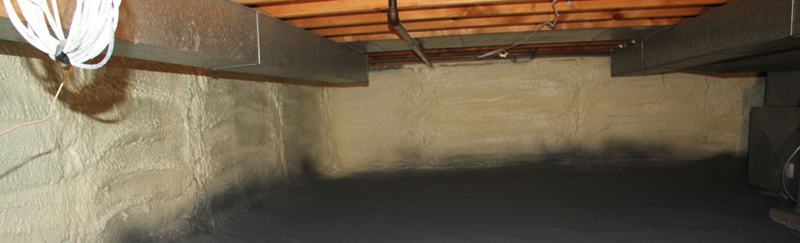 crawl space insulation in Minnesota